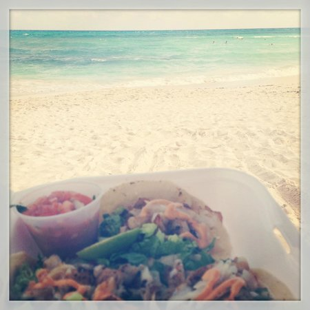 The Royal Haciendas, All Inclusive, All Suites Resort:                   The way fish tacos are to be enjoyed!
