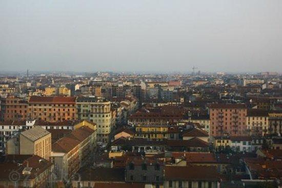 Michelangelo Hotel:                   部屋からの眺めが楽しい♪