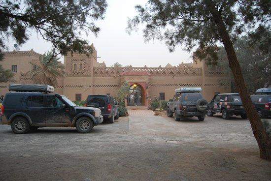 Kasbah Le:                   entrada al alberge