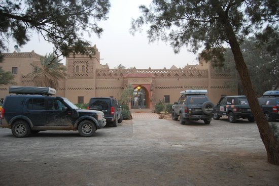 Kasbah Le Touareg:                   entrada al alberge