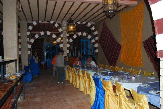 Kasbah Le Touareg:                   comedor alberge