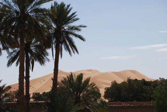 Kasbah Le:                   vista desde el alberge