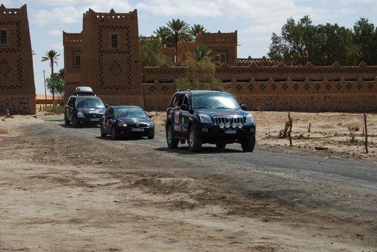 Kasbah Le:                   salida de ruta del alberge