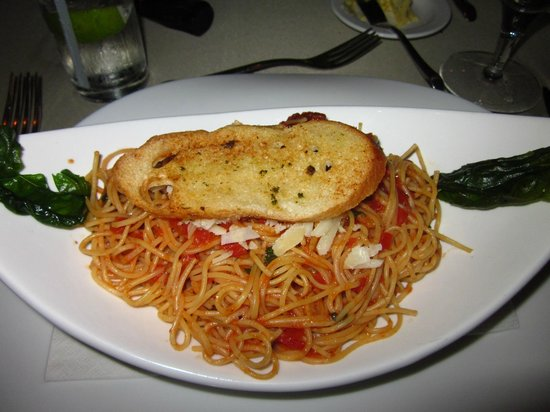 The Springs Resort and Spa:                   delicious pasta dish