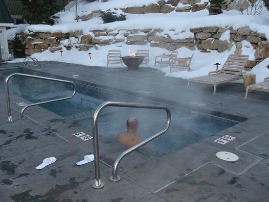 Washington School House Hotel: outdoor pool and hot tub