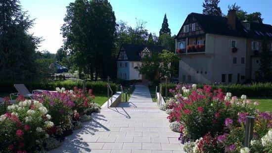 Hotel Muller:                   Entrée de l'hôtel / Reception