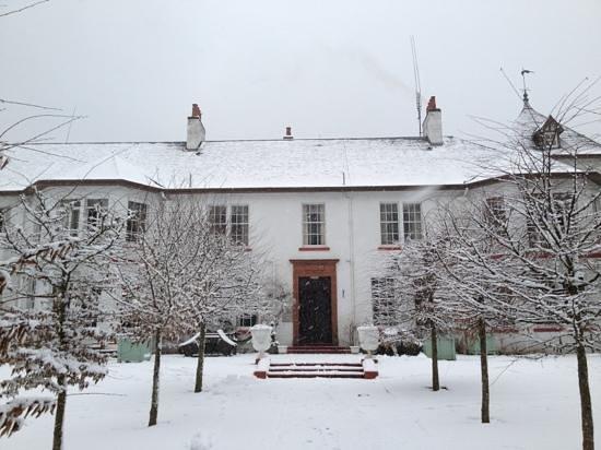Dunkeld House Hotel:                   dunkeld in the snow
