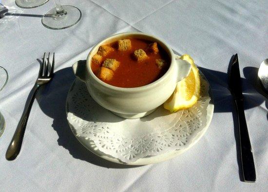 La Taberna del Sacristan: Fish & Shellfish Soup