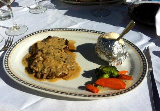 La Taberna del Sacristan: Fillet Steak with Pepper Sauce