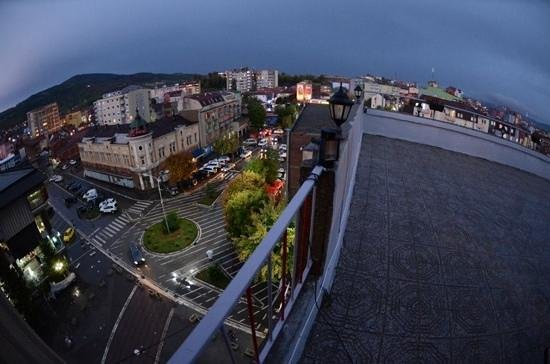 Mitrovica, Kosovo:                   South city center