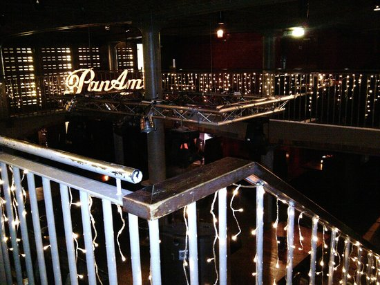 PANAM Restaurant And Bar: View from top of the stairs leading out!