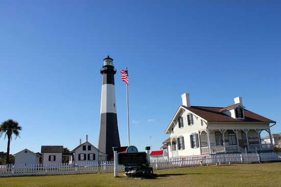 South Beach: Tybee lighthouse