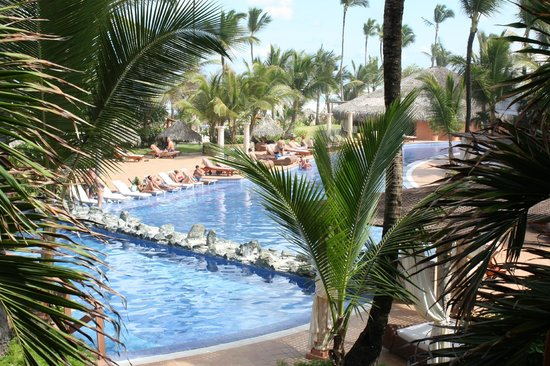 Excellence Punta Cana:                   View from Excellence Club lounge
