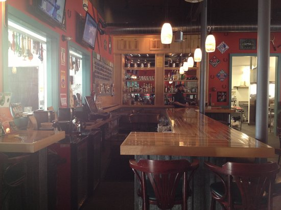Milepost 111 Brewing Company:                   Kind of cool that this is an old auto garage.