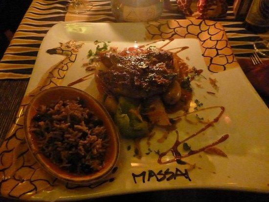 Massai-Berlin:                   Antelope steak...