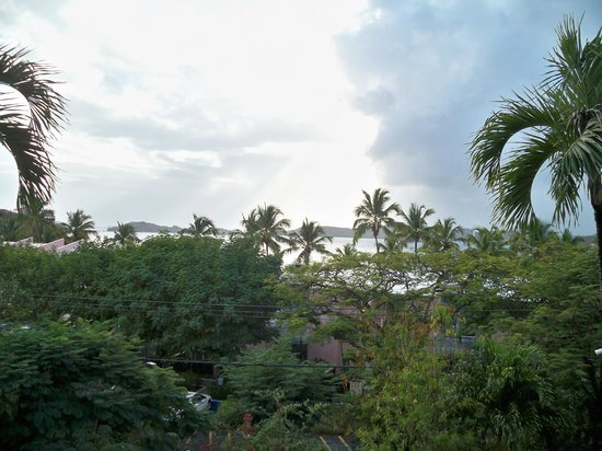 Secret Harbour Beach Resort:                   view from balcony