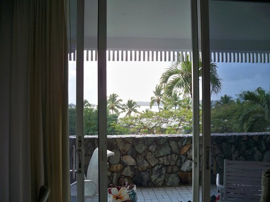 Secret Harbour Beach Resort:                   door to balcony