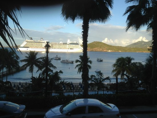 Marriott's Frenchman's Cove:                   From Room 215 (Virgin Gorda building)