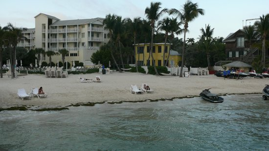 The Reach Key West, A Waldorf Astoria Resort:                   Beach as Seen from Pier