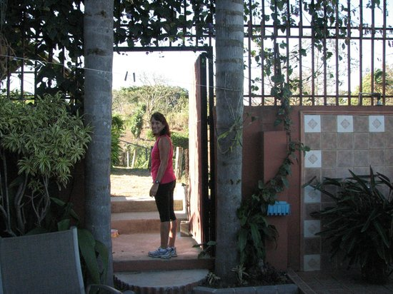 Casa Bella Rita Boutique Bed & Breakfast:                   Gate to Garden
