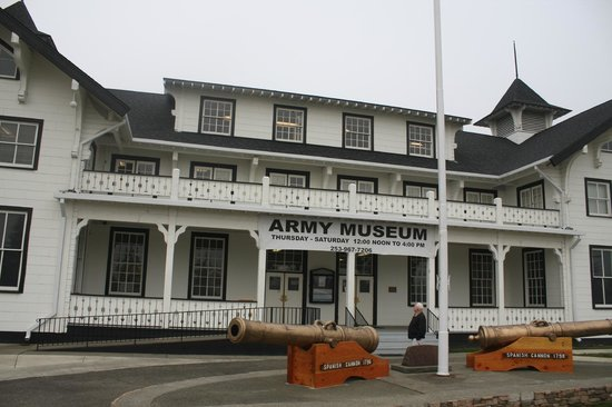 Dupont, WA:                                     The Museum facade as it looks today.