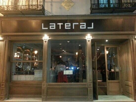 Lateral in plaza santa ana madrid picture of restaurante - Restaurante lateral madrid ...