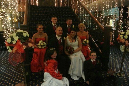 Woodford Dolmen Hotel:                                                       Stairwell