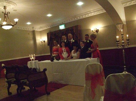 Woodford Dolmen Hotel:                                                       Civil Ceremony Room