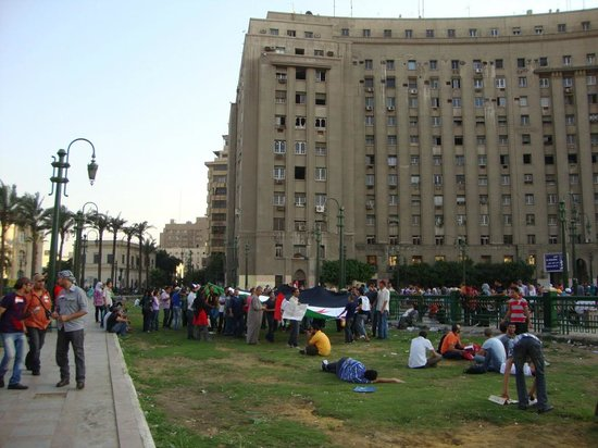InterContinental Cairo Semiramis: Tahrir Square