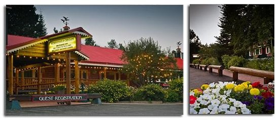Brundage Inn: Enchanting family style lodge.