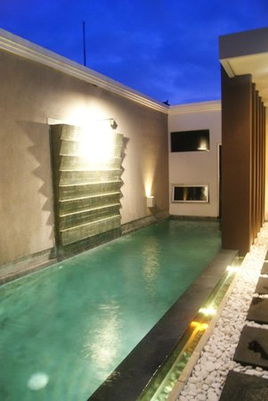 The Seiryu Villas:                   Our own pool