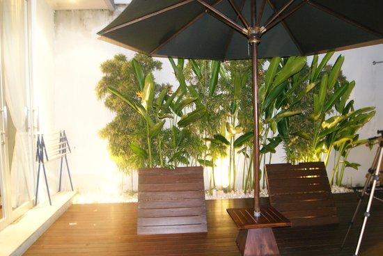 The Seiryu Villas:                   outside