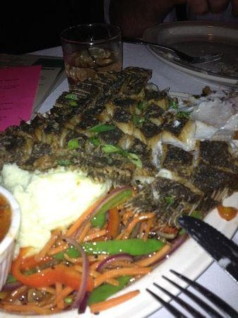 Brother Shuckers:                                     the whole flounder, delicious.