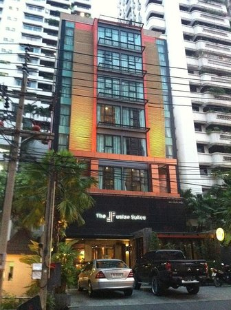 The Fusion Suites Bangkok:                   outside view