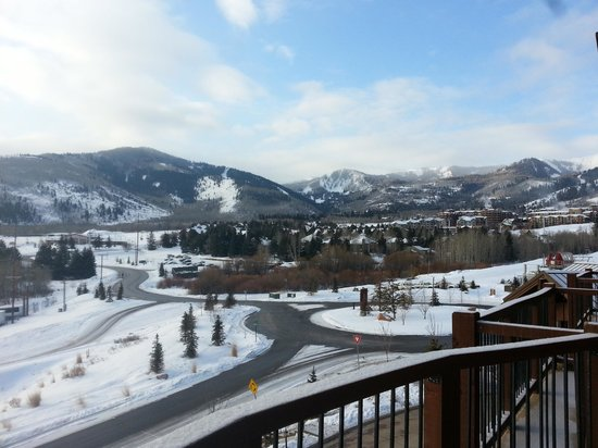Waldorf Astoria Park City: View from 7th floor balcony