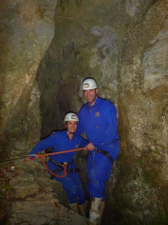 Waitomo Adventures - Lost World 4 Hr Option:                   cave exploring
