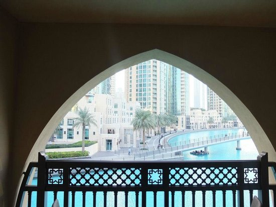 The Palace Downtown Dubai:                   View from our room