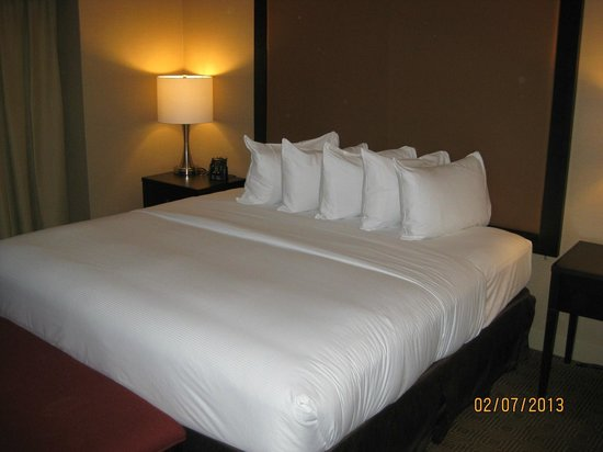 Hilton Quebec:                   Comfy bed