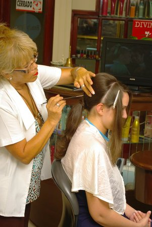 CasaMagna Marriott Cancun Resort: Full service hair salon