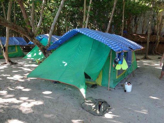 Laoliang Island Resort:                   the luxury tent