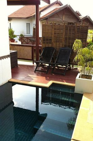 Suites And Sweet Resort Angkor:                   Outdoor private pool