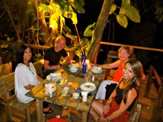 Bliss Hotel Seychelles:                   Dinner at the hotel with other guests