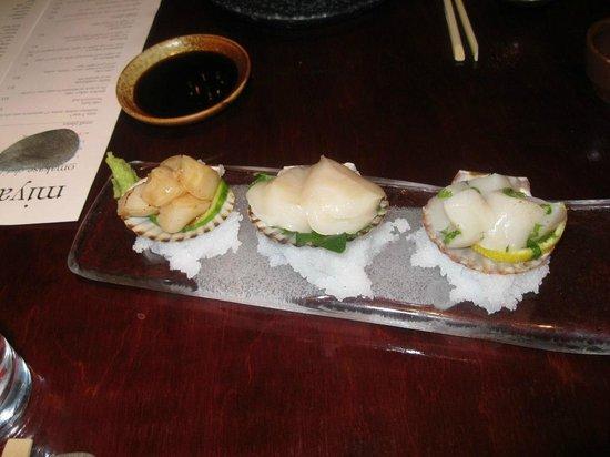 Miyake: Scallops Delight of 3