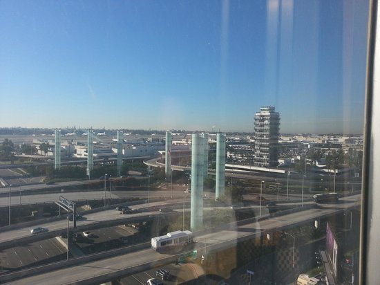 The Concourse Hotel at Los Angeles Airport - A Hyatt Affiliate:                   Room with a view