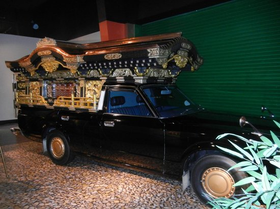 National Museum of Funeral History: Funeral car