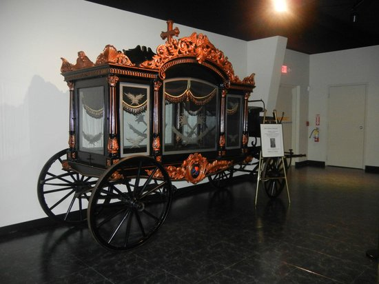National Museum of Funeral History: Funeral Carriage