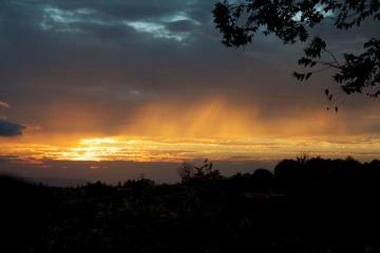 February sunset - shot from La Boruca hotel