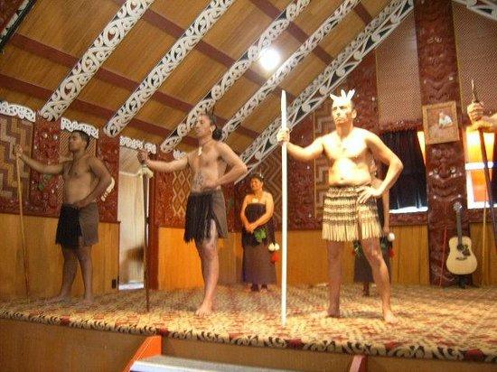 Archer Tours:                   Maori Cultural Show