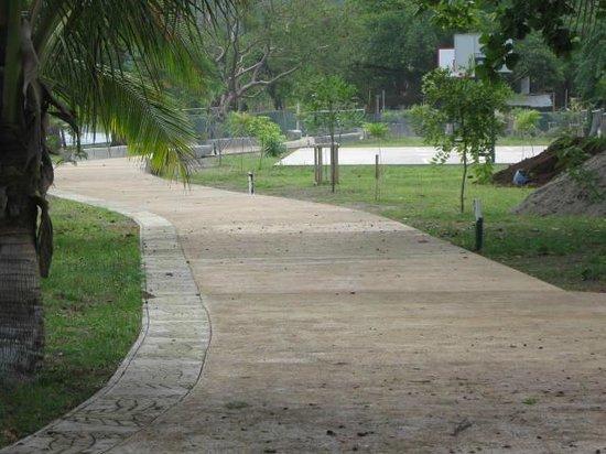 Cabinas Coco Alegre: bulevard
