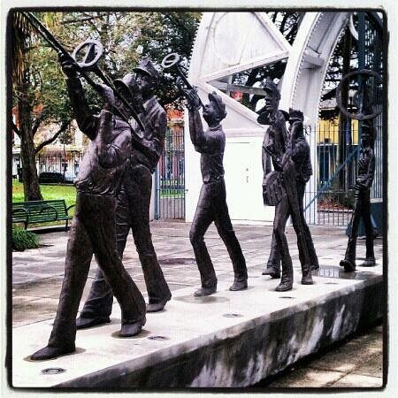 Louis Armstrong Park:                                     100% American made....Jazz!